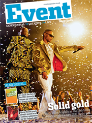 Going for gold in the November/December issue of Event