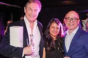 Julian Pullan (left) with Event's Yasmin Arrigo and Kevin Jackson from GPJ
