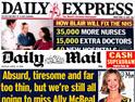 Express and Mail: war