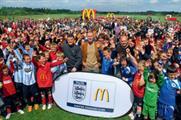 McDonald's in football push
