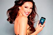 Kelly Brook: brand ambassador for the LG Optimus One smartphone