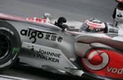 McLaren F1 team: Johnnie Walker sponsorship