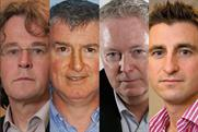 Chris Hayward, Steve Platt, Chris Locke and Andrew Stephens
