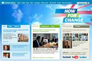 Tory website: all parties are expected to ramp up their digital marketing for the next election