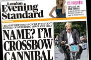 London Evening Standard: tops Guardian and The Times