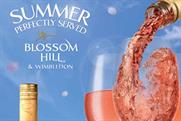 Blossom Hill: campaign tied into Wimbledon fortnight