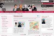Agatha Christie: Chorion updates author's website
