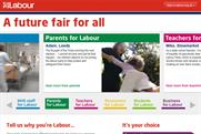 Labour Party: unveils 'a future fair for all' election slogan