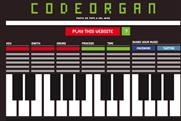 Codeorgan.com: transforms websites into music