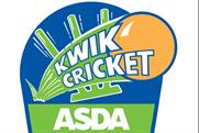 Asda Kwik Cricket: sponsorship of the cricket for kids game stepped up