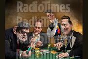 Radio Times features caricatures of party leaders, by Roger Law