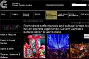 Covent Garden: website revamp