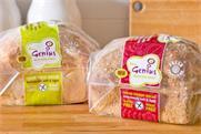 Genius: gluten-free food brand