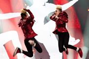 Jedward perform at this year's Eurovision