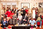 Manchester TV stars cosy up on Virgin Media's sofa