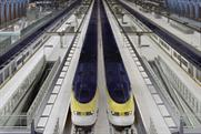 Eurostar: grounded fliers take the train