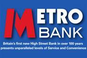 Metro Bank: press ads promote London branch openings