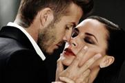 David and Victoria Beckham: star in the advert for Intimately Beckham Yours