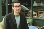 Magners Pear: ads star Mark Watson