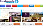MoneySupermarkets: rolls out online deals service
