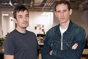 Drew Burdon and Dom Boyd: promoted to planning partners at DDB