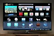Samsung: to roll out $7m campaign for Smart TVs