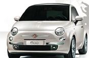 Fiat 500: will ride on the London Eye