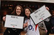 Rugby fans at the Republic of Rugby pop-up at Twickenham Stadium