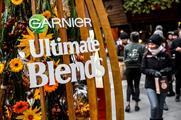 Eventographic: Garnier Ultimate Blends pop-up