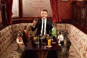 Gary Barlow: teams up with the meerkats for Coronation Street performance