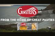 Ginsters: 'Shaped by Cornwall' ad by Red Brick Road