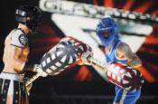 Gladiators: hit for Sky One