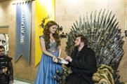 Around 70 Game of Thrones artifacts were available to view