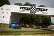 Car brands including Nissan, Vauxhall and Mazda are activating at Goodwood Festival of Speed