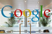 Google: grows profits by 4% to $3.59bn (£2.37bn) for the first three months of 2015