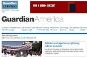 Guardian America: unveils US website