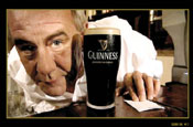 Guinness: short email movie features a pub landlord who pulls recipient a pint