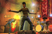 Guitar Hero World Tour: in-game ad deal