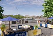 Hellmann's cooks up a storm on the Southbank