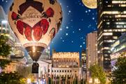 Hendrick's Gin creates hot air balloon activation