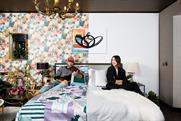 Hotels.com designs half-and-half room with contrasting styles