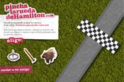 Hamilton site: more racist abuse