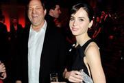 Harvey Weinstein and Felicity Jones at the Moet British Independent Film Awards 2013