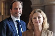 Havas: Kate Robertson, right, will report to chief executive David Jones, left.