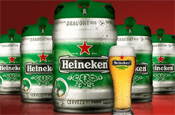 HeinekenKeg: draught beer at home