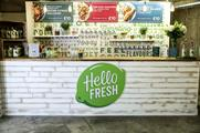 HelloFresh opens pop-up shop in London