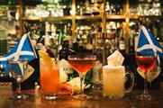 Hendrick's Burns Night celebrations will conclude in London (Facebook/hawksmoorspitalfieldsbar)