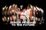 Those who pass the time barrel will be invited to leave a 15-second message (image: hennessy.com)