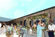 Ketel One teams up with Hicce for botanical terrace bar
