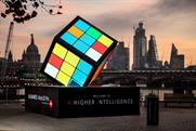 Huawei unveils giant interactive Rubik's Cube
